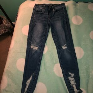 American Eagle Outfitters Jeans - American Eagle cropped jeggings.